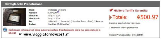 codici promo Otel.com