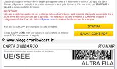 Check-in online Ryanair: come farlo ed informazioni utili