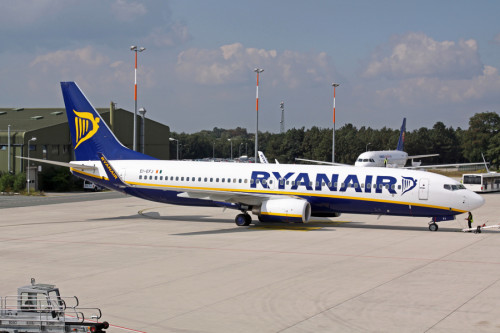 Ryanair a Roma Fiumicino