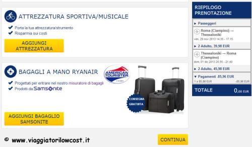 Come fare check-in online Ryanair