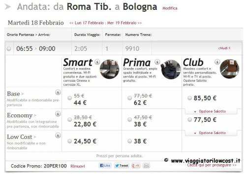 Biglietti low cost Italo Treno