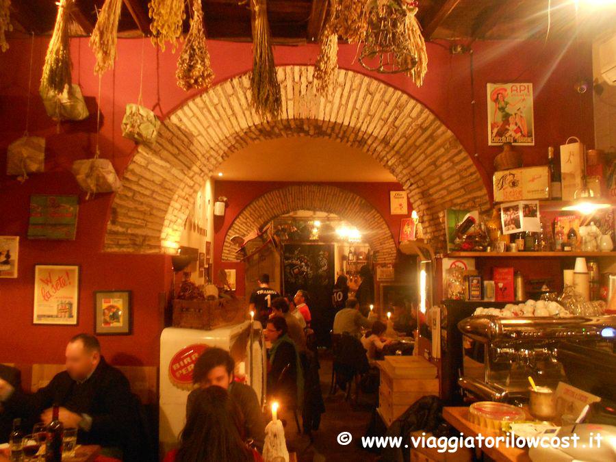 Cantina e cucina a roma un ristorante dove mangiare for Cucina atipica roma