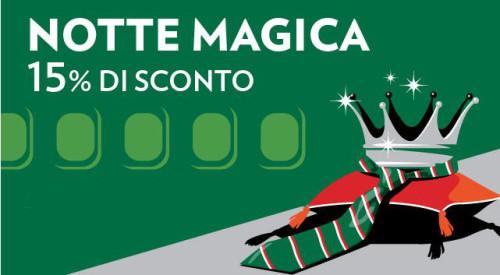 Notte Magica voli low cost Alitalia e Airone
