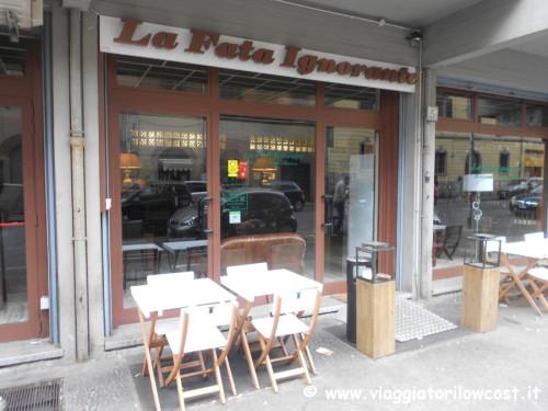 Ristorante La Fata Ignorante a Roma mangiare bene
