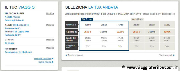 biglietti in offerta a 29€