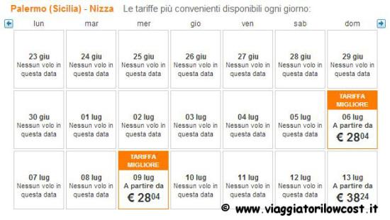 Voli low cost easyJet estate 2014