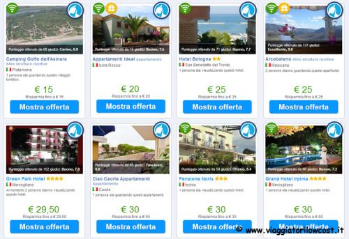 offerte supersegrete di Booking.com estate 2014