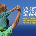 Voli gratis per i bambini fino a 12 anni con Airone
