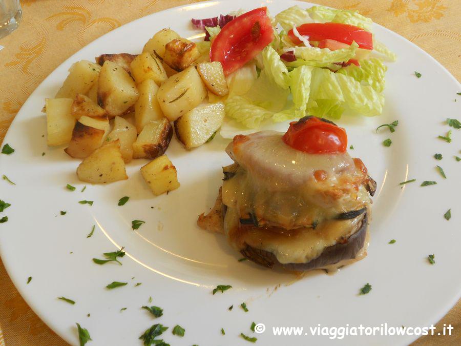 mangiare tipico a roma ristorante lo zio frankie a