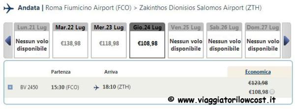 voli low cost Grecia Turchia Spagna