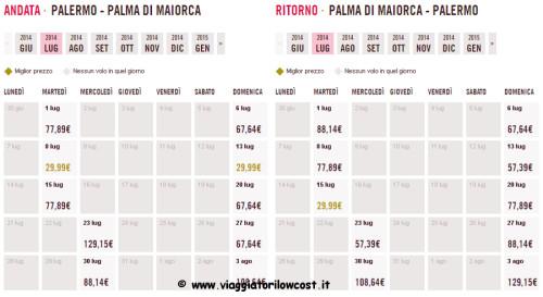 voli low cost Italia estate 2014