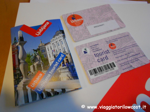 Lubljana Tourist Card Lubiana low cost