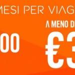 Voli low cost easyJet a meno di 35€ per l'Italia