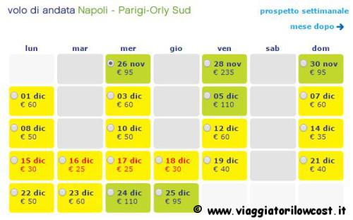 voli low cost per Parigi e Amsterdam