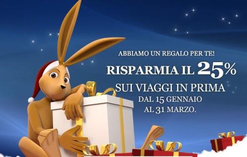 codice promo Italo Treno Ambiente Prima 2015