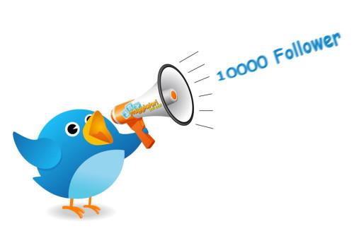 Viaggiatori Low Cost 10.000 follower Twitter