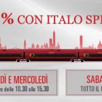 Italo Treno: Special e Special Sabato per viaggiare low cost