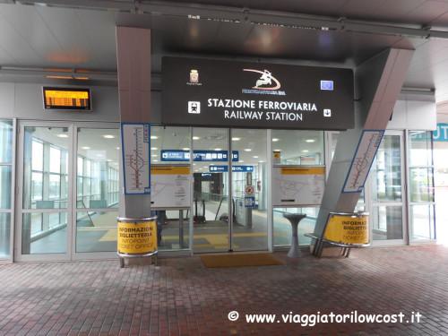 Collegamenti Aeroporto Bari Centro città in treno