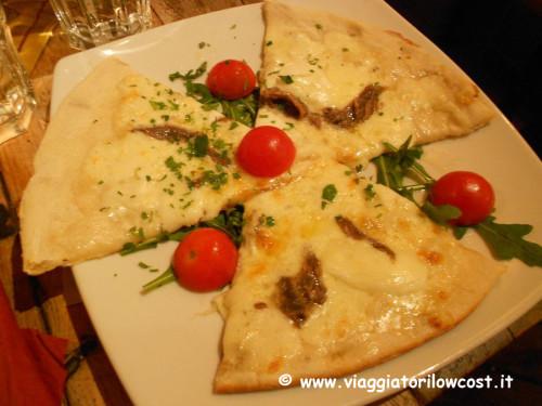 Focaccia Grazia e Graziella a Roma ristorante Trastevere