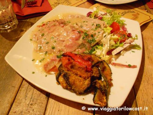Saltimbocca Grazia e Graziella a Roma ristorante Trastevere