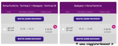 voli low cost di Wizzair per il 2015