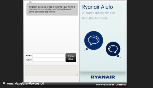 Web Check-in Ryanair Live Chat Ryanair