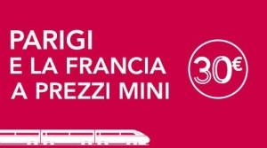 biglietti treni per la Francia offerte low cost