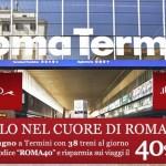Codice Italo Treno: Sconto del 40% sui treni AV da/per Roma