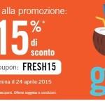 Promo Rates To Go: codice sconto hotel del 15% per il 2015