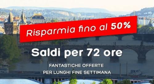 Promo Hotels.com risparmio fino al 50%