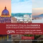 Viaggi in treno AV per Padova a partire da 3€ con Italo