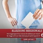 Elezioni Regionali 2015: Sconto del 60% con Italo Treno