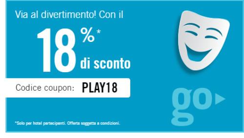 Sconto Hotel 2015 Codice promo Rates To Go