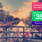 Voli low cost per Francia e Olanda da 25€ anche ad agosto