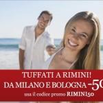 Offerta Italo Treno: Viaggi per Rimini scontati del 50%