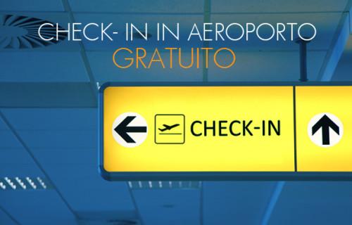 Blue Air check-in in aeroporto gratuito