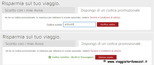 codice sconto Iberia per voli