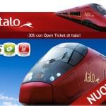Nasce Open Ticket di Italo Treno: risparmio e flessibilità!