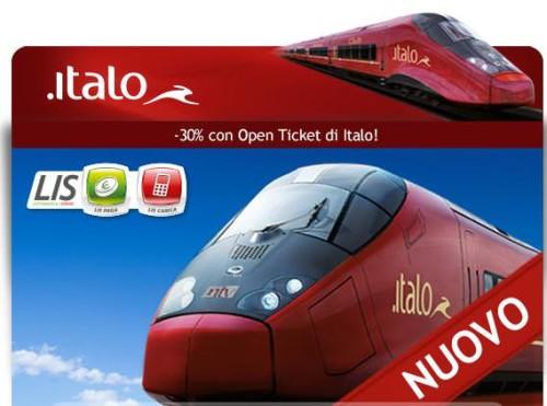Servizio Open Ticket Italo Treno