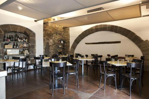 Pizzeria Pepe in Grani a Caiazzo sala