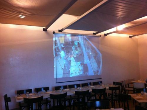 Pizzeria Pepe in Grani a Caiazzo proiettore