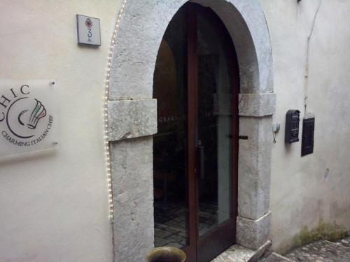 Pizzeria Pepe in Grani a Caiazzo ingresso