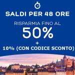 Soggiorni hotel: Sconti fino al 50% e codice promo del 10%