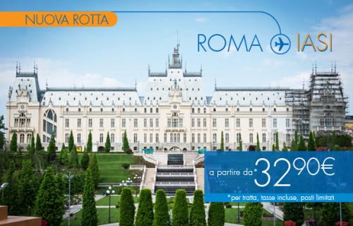 voli low cost Roma Iasi