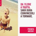 Promo low cost: Voli per l'Italia in offerta a 19,99€