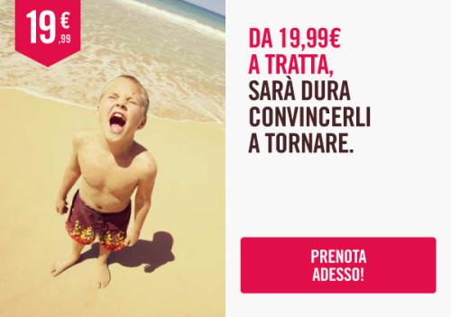 Voli low cost per l'Italia di Volotea