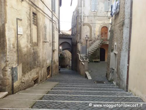 Cosa vedere a Genazzano centro storico borgo medievale