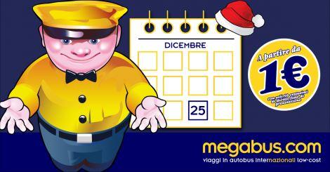 Biglietti Megabus a 1 euro