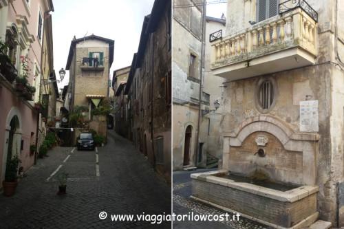 Cosa vedere a Genazzano Casatorre e Fontana del Pilozzo