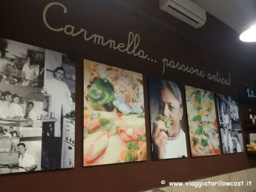 Pizzeria Carmnella Napoli Centro mangiare vera pizza napoletana